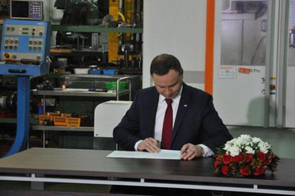 Prezydent podpisał nowelizację ustawy o swobodzie działalności gospodarczej